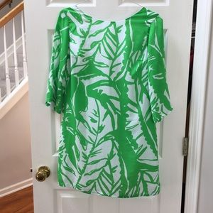 Lilly Pulitzer for Target green&white dress SMALL